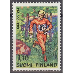 Soome - orienteerumise MM 1979, MNH