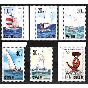 Põhja-Korea - purjetamine 1992, **