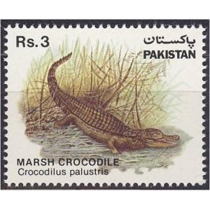 Pakistan - krokodill 1983, puhas (MNH)