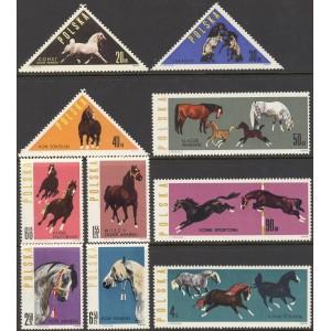 Poola - hobused 1963, **