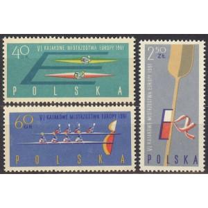 Poola - Sõudmise EM 1961, puhas