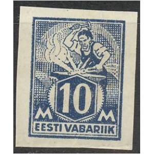 Eesti 1922, Sepp 10M, lõigatud (MLH) *