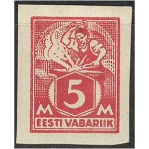 Eesti 1922, Sepp 5M, lõigatud (MLH) *