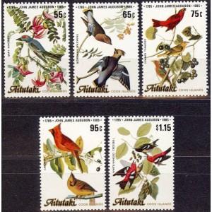 Aitutaki - linnud 1985, **