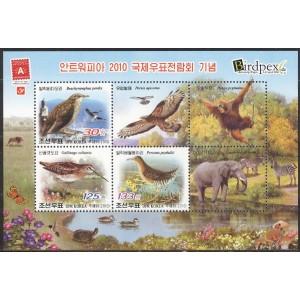 Põhja-Korea - linnud 2010, **