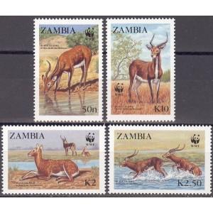 Zambia - loomad WWF 1987, **
