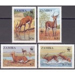 Zambia - loomad 1987 (WWF), puhas