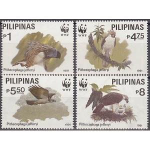 Filipiinid - linnud 1991 (WWF), **