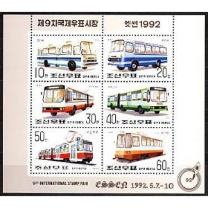 Põhja-Korea - ühistransport 1992, MNH