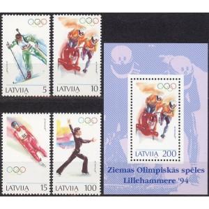 Läti - Lillehammer 1994 olümpia, **