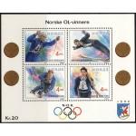 Norra - Lillehammer ´94, olümpiavõitjad (IV), MNH