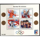 Norra - Lillehammer ´94, olümpiavõitjad (I), MNH