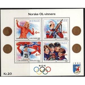 Norra - Lillehammer ´94, olümpiavõitjad (I), **