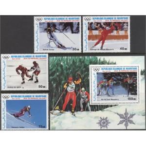 Mauritania - Calgary 1988 olümpia, **