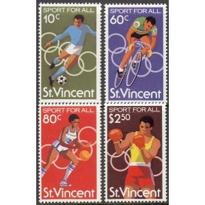 St. Vincent - Moskva 1980 olümpia, **
