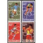 St. Vincent - Moskva ´80, olümpia, MNH