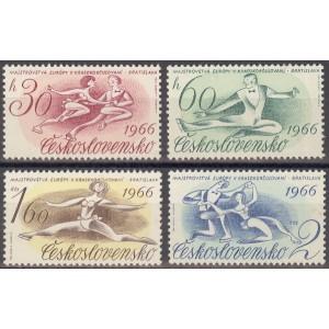 Tšehhoslovakkia - EM iluuisutamises 1966, MNH