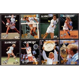 St. Vincent - tennis 1997, MNH