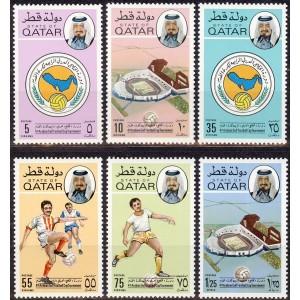 Qatar - jalgpall 1976, **