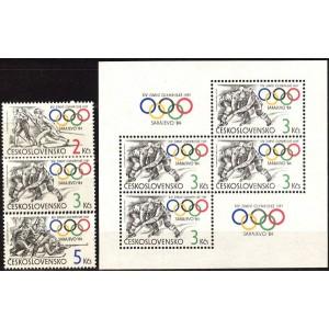 Tšehhoslovakkia - Sarajevo 1984 olümpia, **