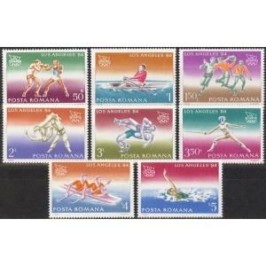 Rumeenia - Los Angeles 1984 olümpia (III), **