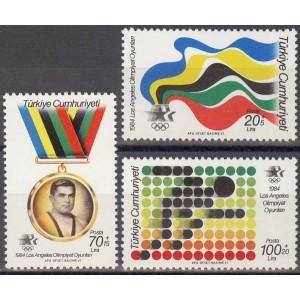 Türgi - Los Angeles 1984 olümpia, **