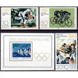 DDR - Moskva 1980 olümpia (II), **