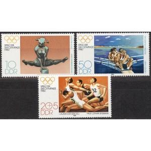 DDR - Moskva 1980 olümpia (I), **