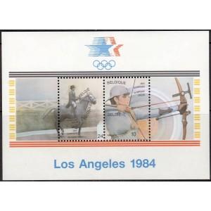 Belgia - Los Angeles 1984 olümpia, **