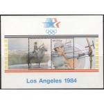 Belgia - Los Angeles ´84 olümpia, MNH