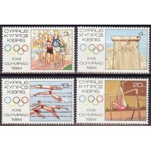 Küpros - Los Angeles 1984 olümpia, **