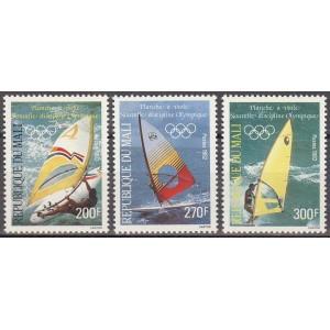 Mali - olümpia, uus ala - purjelauasõit, **
