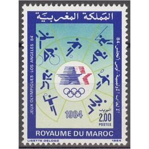 Maroko - Los Angeles 1984 olümpia, **