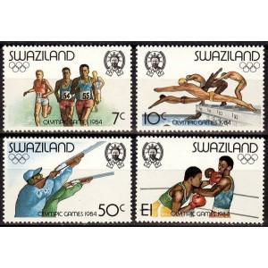 Svaasimaa - Los Angeles 1984 olümpia, **