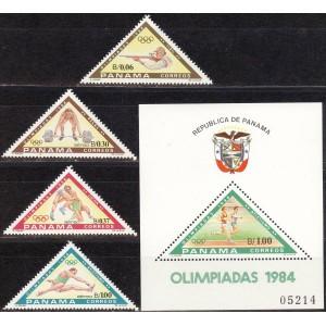 Panama - Los Angeles 1984 olümpia, **