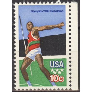 USA - Moskva 1980 olümpia (I), **