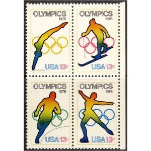 USA - Innsbruck ja Montreal 1976, nelikpl. **