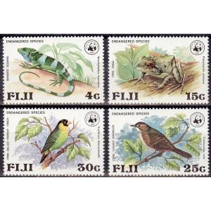 Fiji - linnud, kahepaiksed 1979, WWF puhas