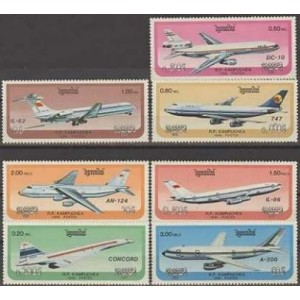Kampuchea - lennukid 1986, **