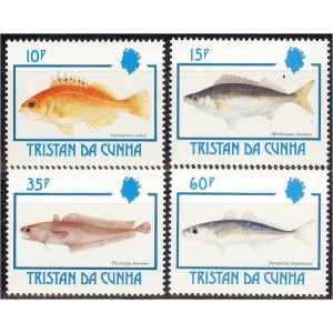 Tristan da Cunha - kalad 1992, puhas
