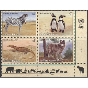 ÜRO (Viin) - fauna: loomad, linnud 1993, **