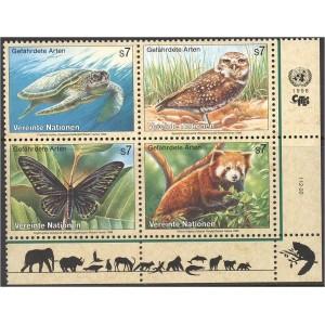 ÜRO (Viin) - loomad, linnud, liblikad, .. 1998, **