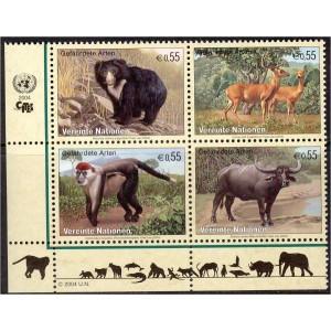 ÜRO (Viin) - loomad 2004, **