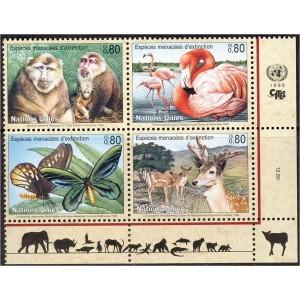 ÜRO (Genf) - loomad, linnud, liblikad 1998, **