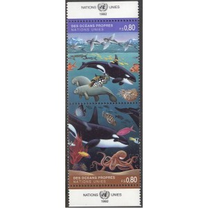 ÜRO (Genf) - merefauna, kalad 1992, **