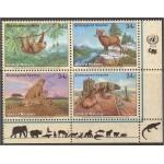 ÜRO (Genf) - fauna: loomad, linnud 2002, **