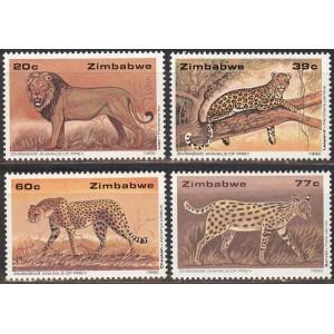 Zimbabwe - loomad 1992, **