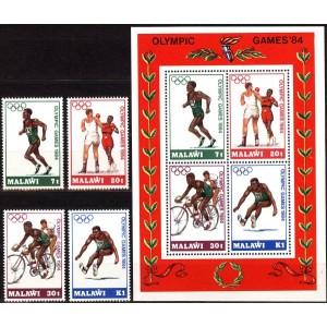 Malawi - Los Angeles 1984 olümpia, **