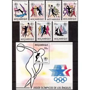 Mosambiik - Los Angeles 1984 olümpia (II), **