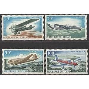 Tchad - lennukid 1967, **